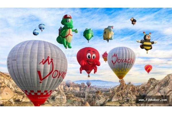 Cappadocia hosts the 2nd International hot air balloon festival