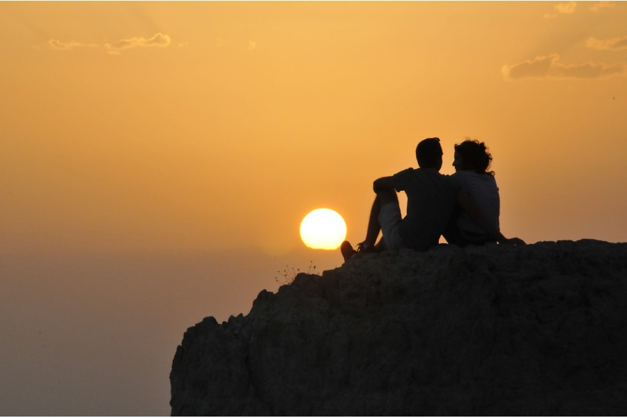 Sunset picnic